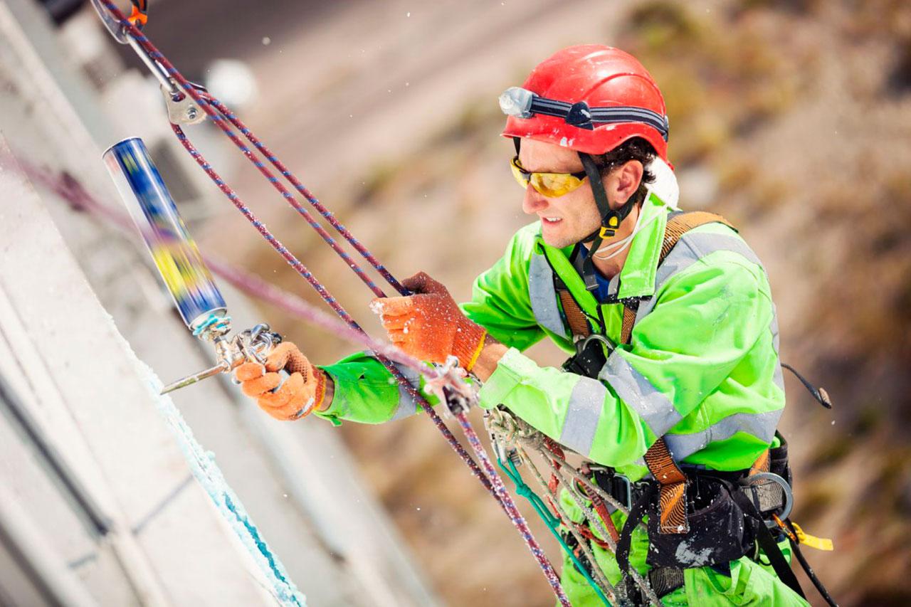 Промышленные альпинисты москва сити
